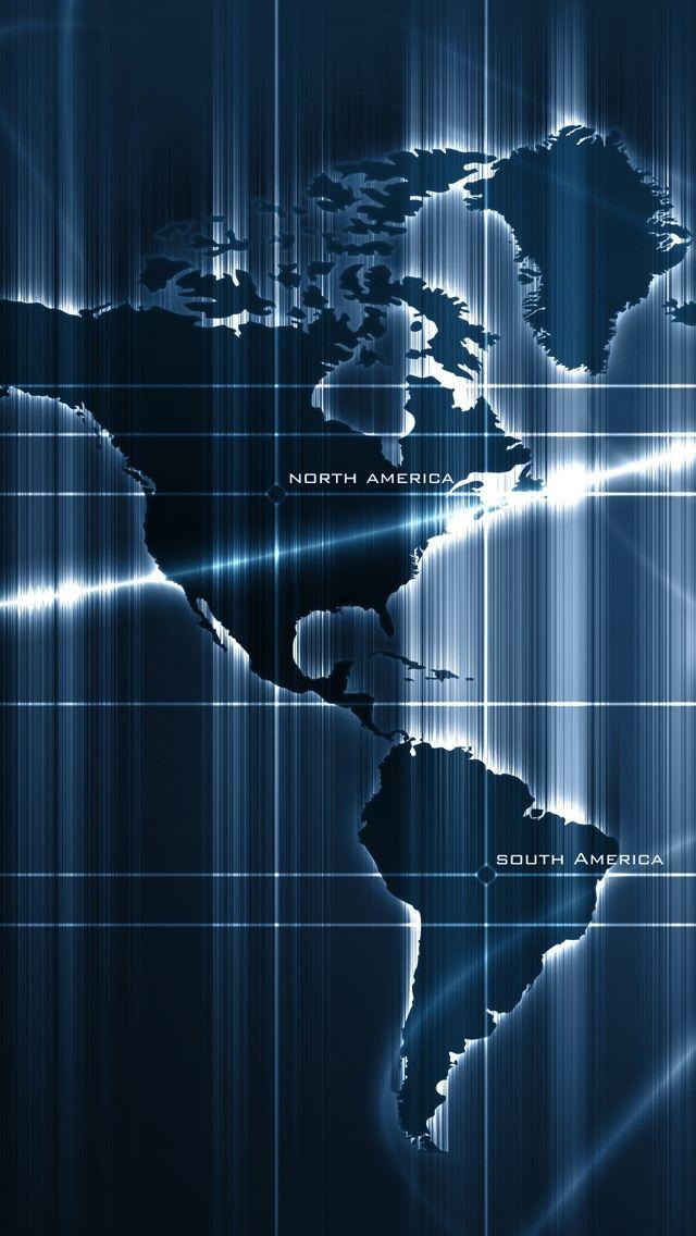 Sensor Deep Map iPhone 5s wallpaper