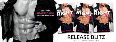 Reading Keeps Me Sane Book Blog: RELEASE BLITZ: Mr. Right-Now by Lila Monroe