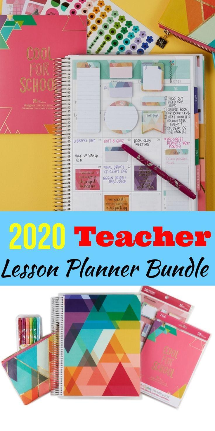 New 2020 teacher lesson planning bundle  Summer planning made easy