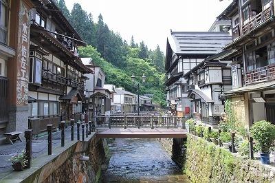Ginzan onsen at Yamagata.