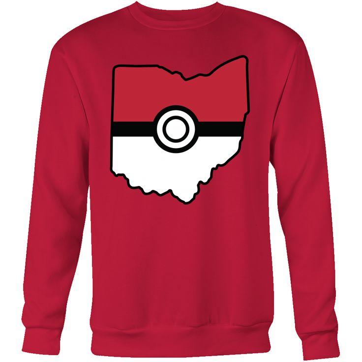 Pokemon USA American State Sweatshirt T Shirt - TL00623SW