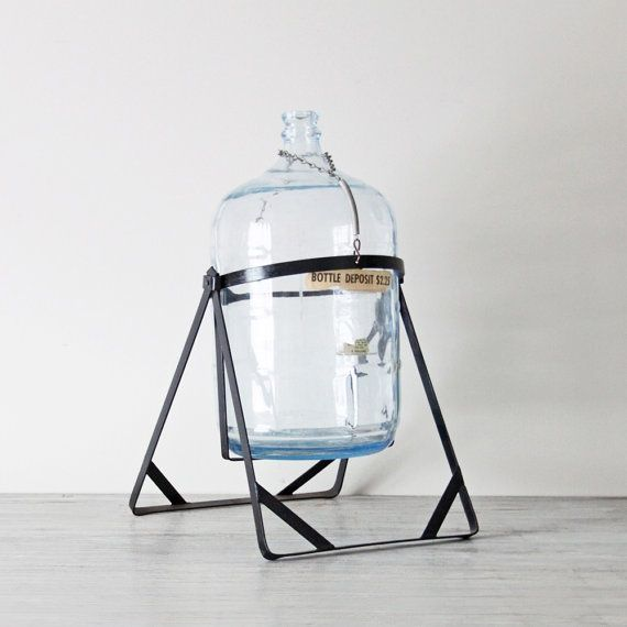 Image Result For 5 Gallon Water Bottle Pouring Stand Dispenser Diy Blue Glass Glass Water Jug