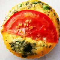 Meu Pé de Manjericão: Omelete Assada em Forminha