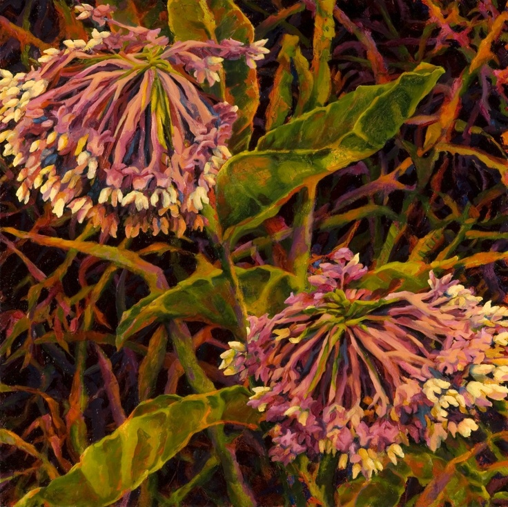 Milkweed by Tamra Harrison Kirschnick, resident artist at Chroma. http://www.chromaprojects.com/milkweed-tamra-harrison-kirschnick/