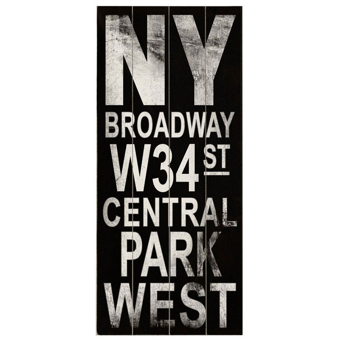 Nytix.com    Broadway Transit Wall Décor
