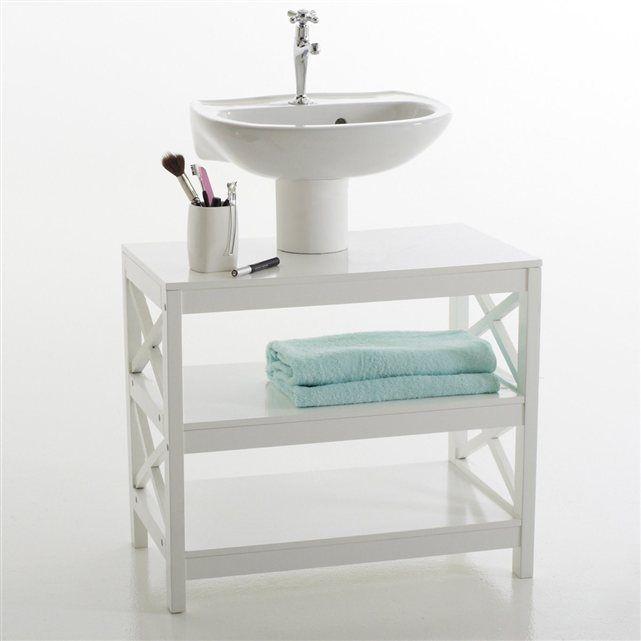 cheap meuble sous lavabo tagres majong la redoute interieurs with fabriquer un meuble sous lavabo. Black Bedroom Furniture Sets. Home Design Ideas
