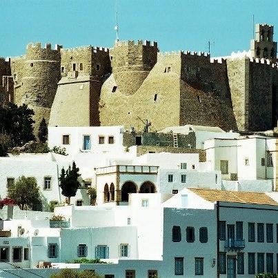Patmos island,Greece - Monastery of St-John