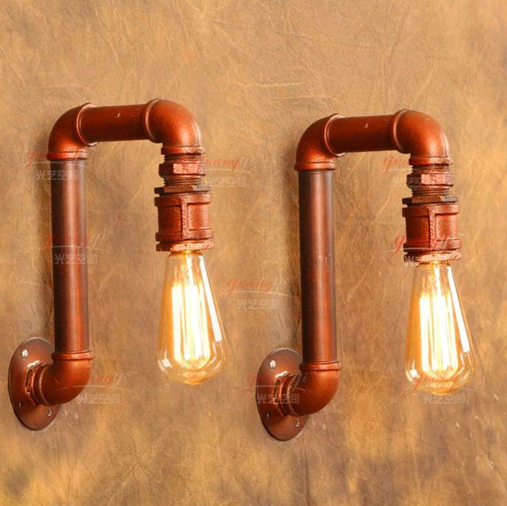 Vintage lampe murale de style am ricain industriel lampes for Deco loft americain