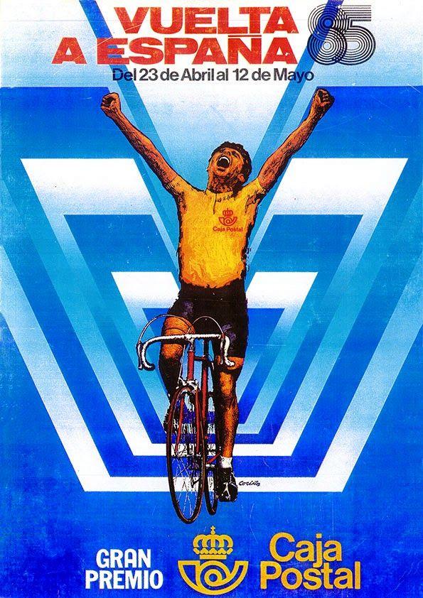 a vueltas con la vuelta: Libros de Ruta Vuelta Ciclista a España 1980 - 1989