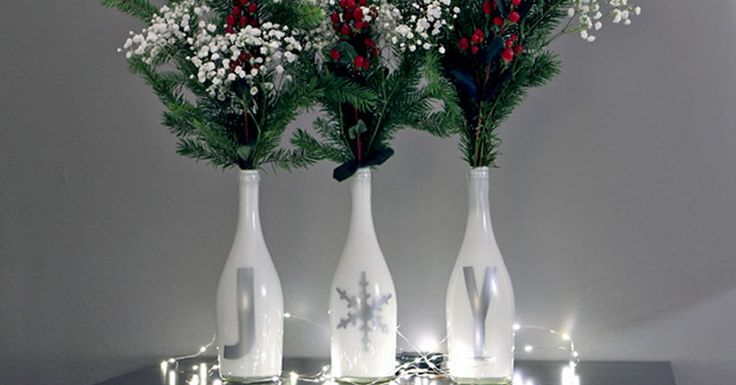Crea fantásticos adornos de Navidad con tus botellas vacías de ...