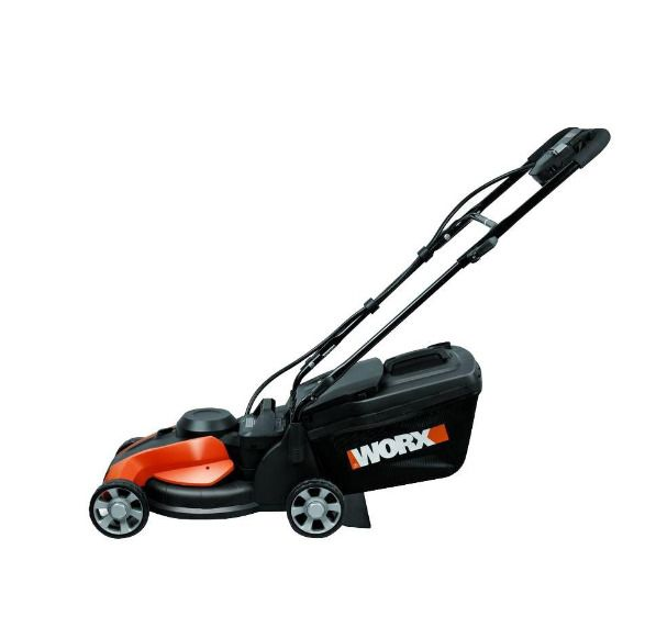 """14"""" 24V Cordless Lawn Mower With Removable Battery Home Garden Outdoor Yard #Worx"""