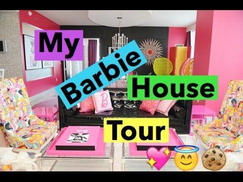 Barbie house tour - YouTube