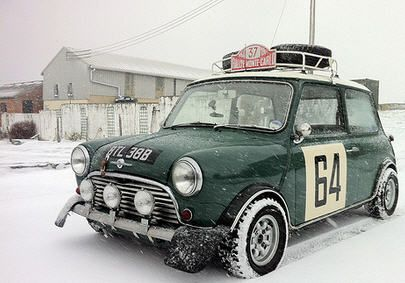 We do love #Classic #MiniCoopers. #MicroCars #Adorable