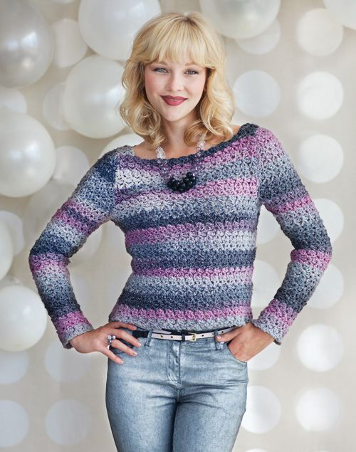 #Live and Let Dye Sweater | crochet today Crochet Jacket #2dayslook #fashion #nice #CrochetJacket www.2dayslook.com