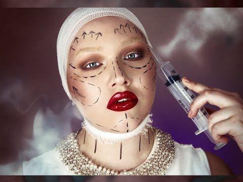Makeup Tutorial: Halloween – Plastic Fantastic - NikkieTutorials