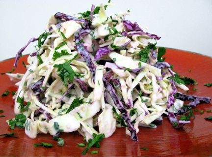 Cilantro Slaw great for shrimp/fish tacos