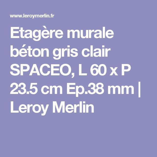 Les 20 meilleures id es de la cat gorie etagere murale - Leroy merlin etageres murales ...