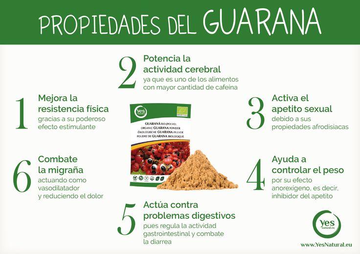 Propiedades del #guaraná. #superalimento