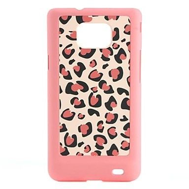 Pink Leopard Pattern Hard Case for Samsung GALAXY S2 S II i9100