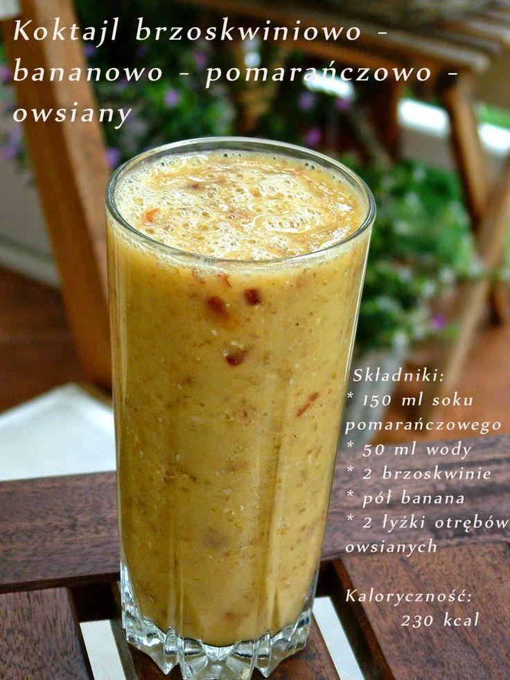 Qchenne-Inspiracje! Odchudzanie, dietoterapia, leczenie dietą: Fit koktajle - pyszne, zdrowe, owocowe !
