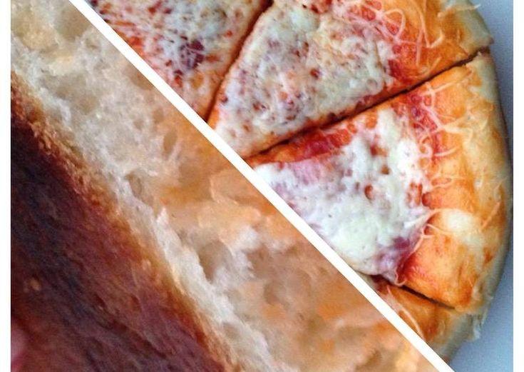 Ropogós lágy pizzatészta