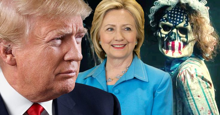 'The Purge 3' Was Inspired by Donald Trump & Hillary Clinton -- 'The Purge: Election Year' is a political conspiracy thriller that pulls its story from real headlines. -- http://movieweb.com/purge-3-election-year-inspiration-donald-trump-hillary-clinton/
