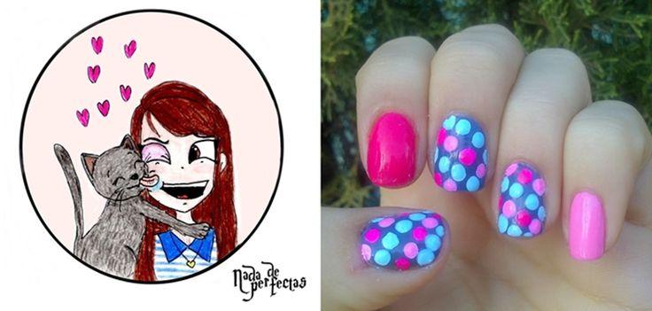 nail art - arte de uñas, nada de perfectas.