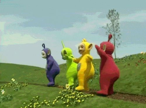 """Holy Shit, These Are The Actors Inside The """"Teletubbies"""" Costumes"""