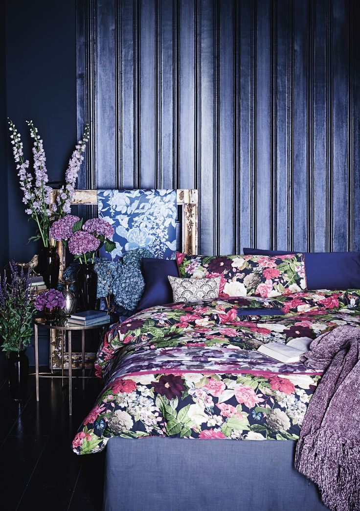 Classic designs are perfectly blended with more contemporary pieces to bring the striking feminine boudoir look bang up to date.