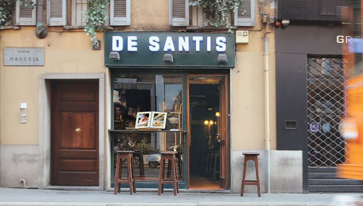 """De Santis - One of the best """"panini"""" in the city."""