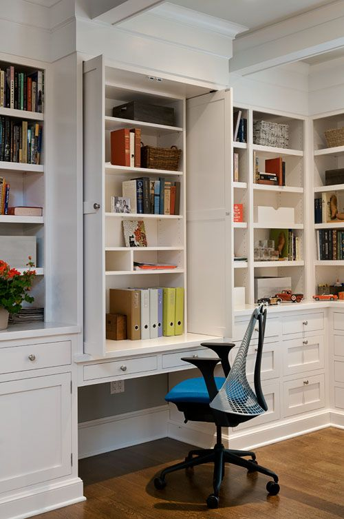16 best Office/Libraries images on Pinterest | Bookshelves ...