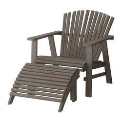 "SUNDERÖ chaise lounge, gray Width: 28 3/8 "" Depth: 48 "" Height: 29 1/8 "" Width: 72 cm Depth: 122 cm Height: 74 cm"