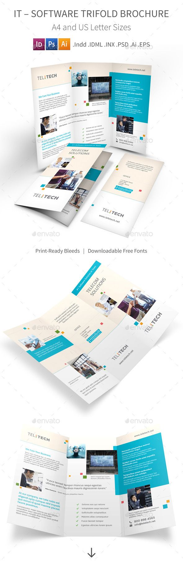 Software Product Brochure Template Radiovkm
