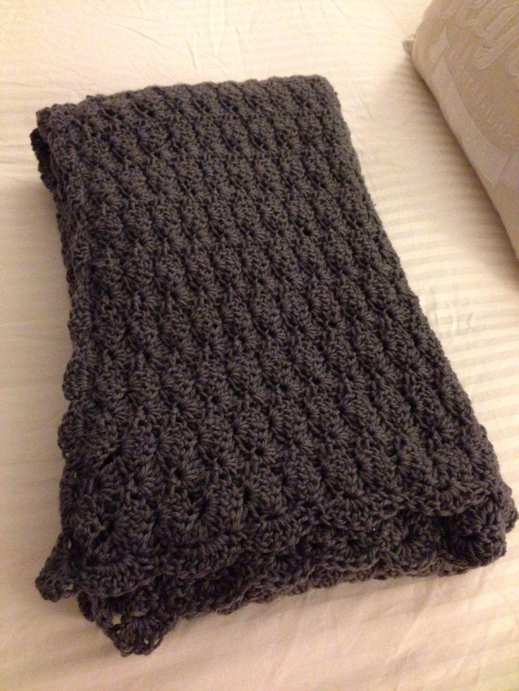 Slate coloured blanket for a friend