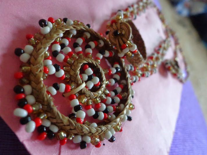 Cane Neck Piece from Assam from Lal10.com