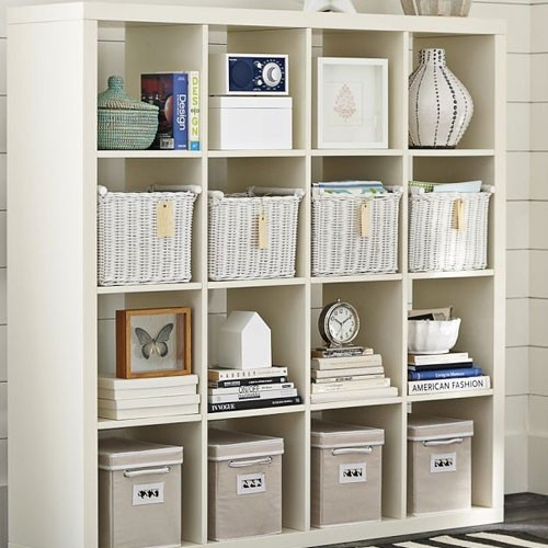 new ikea expedit room divider shelving unit bookcase display case shelf white display case. Black Bedroom Furniture Sets. Home Design Ideas