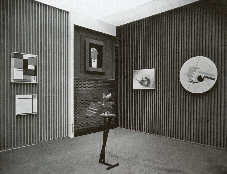 Эль Лисицкий, номер для конструктивистского искусства, Дрезден, 1926