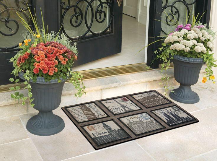 1000 ideas about front door mats on pinterest door mats doormats and welcome mats - Front door mats as a guest greeting tool ...