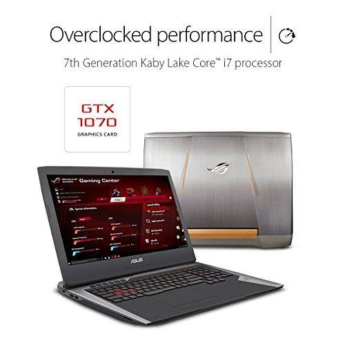 ASUS ROG G752VS-XS74K OC Edition Gaming Laptop, 17-inch 120Hz G-SYNC Full-HD, Intel Core i7-7820HK, GTX 1070, 512GB PCIe SSD, 16GB RAM, Copper Titanium - 2017   see more at  http://laptopscart.com/product/asus-rog-g752vs-xs74k-oc-edition-gaming-laptop-17-inch-120hz-g-sync-full-hd-intel-core-i7-7820hk-gtx-1070-512gb-pcie-ssd-16gb-ram-copper-titanium-2017/