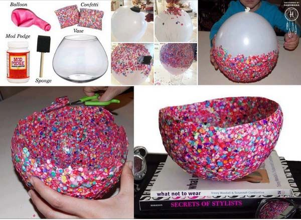 Creative-Easy-DIY-Crafts-Using-Balloons_2   Stylish Eve