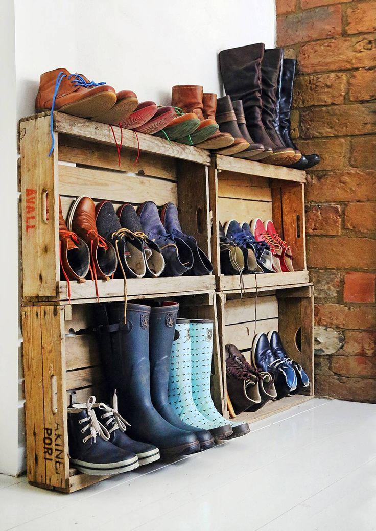 Kenkien säilytys on pulma monessa perheessä. Katso Unelmien Talo&Kodin…