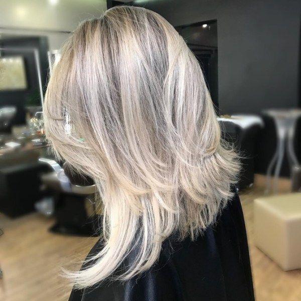 Haircut 2018 Waterfall Medium Length Hair Thin Hair Haircuts Hairstyles For Thin Hair Medium Hair Styles