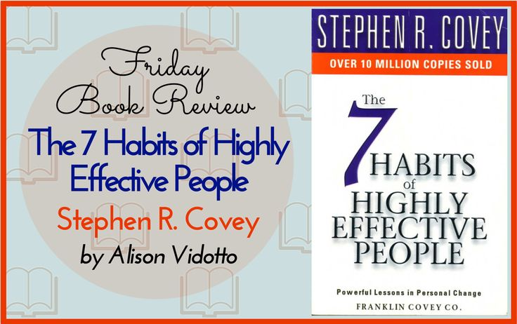 Dr Covey has written many books but this would be his most successful by far. The Seven Habits can be used as a guideline for your personal life as well for those who manage or lead others.  http://www.pushbusinesstraining.com/book-review-the-seven-habits-of-highly-effective-people-dr-stephen-covey/ #BookReview
