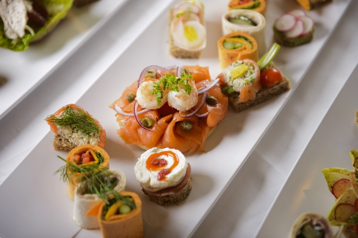 Finger food at The Brehon