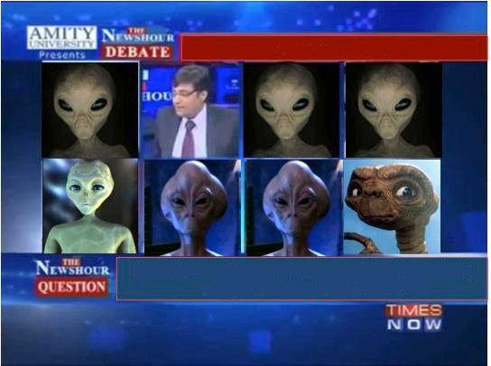 Arnab Goswami tomorrow meeting with Mars Alien - WhatsApp Text ...