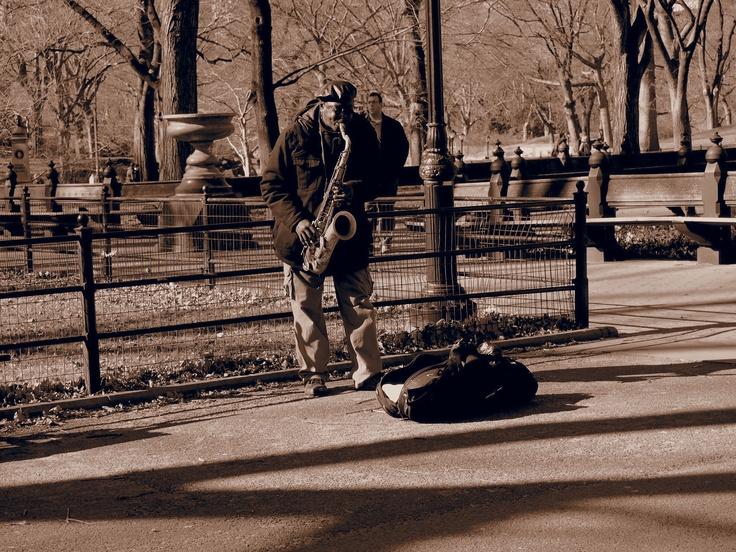 Et la musique fut.   Central Park