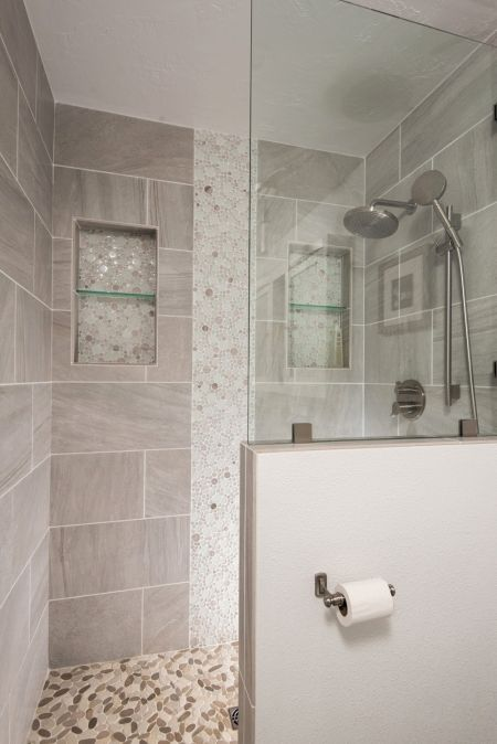 Shower Design Ideas For A Bathroom Remodel Pebble Floor