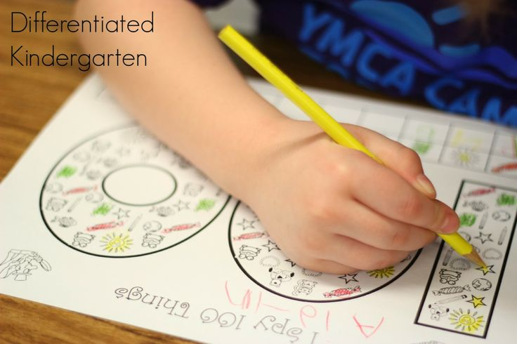 A Differentiated Kindergarten: Differentiated Kindergarten's 100 Days Smarter and It's Time to Start Thinking Green!