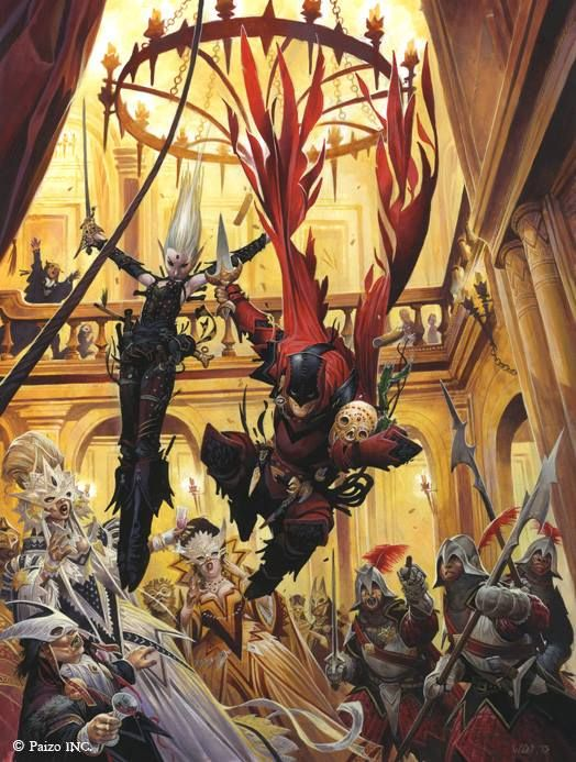 Cover artwork to Pathfinder RPG Ultimate... - Wayne Reynolds Artworks