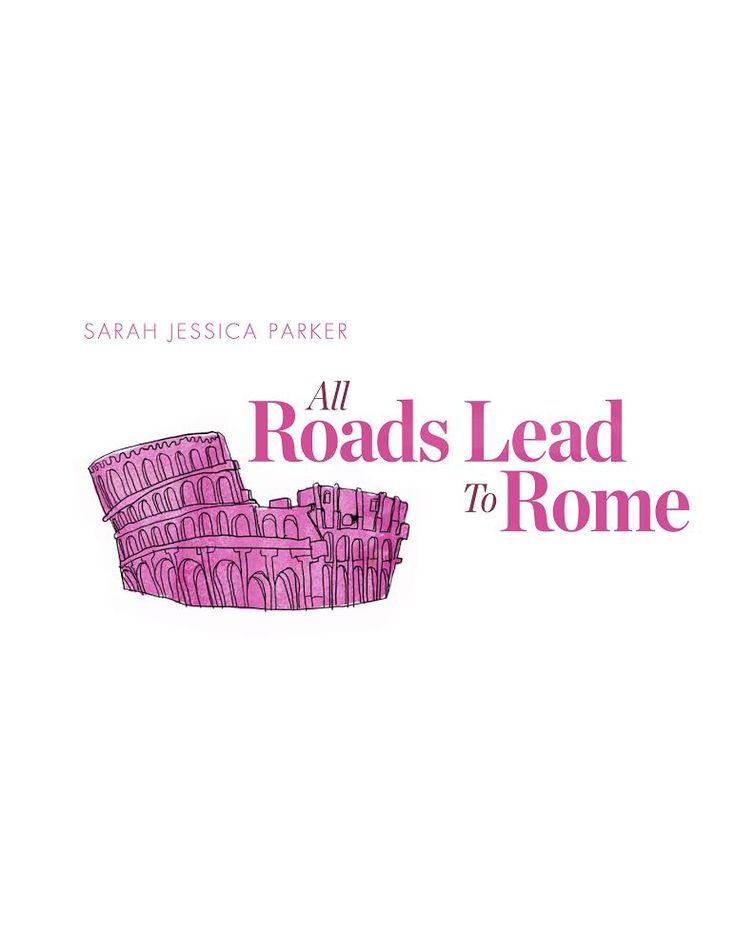 ALL ROADSLEAD TO ROME (Temporary Logo Title) Status: Post Production